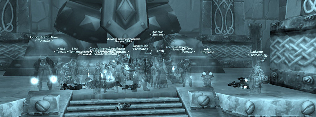 Ironforge down
